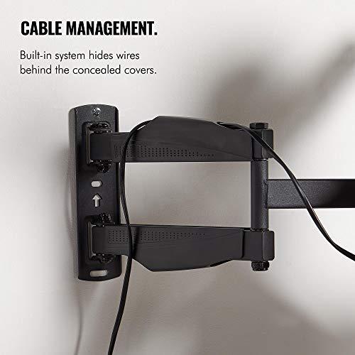 VonHaus 17-56 Inch TV Wall Bracket - Tilt and Swivel Mount for VESA Compatible Screens, 25kg Weight Capacity Img 4 Zoom