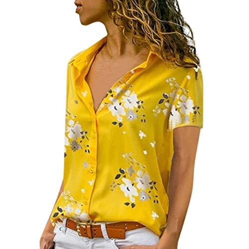 0b32091b7dbf LEvifun Maglietta Elegante Sexy Casual Tops Blusa Taglie Forti Maglia  Maglione Pullover Camicetta Felpe Cappuccio da
