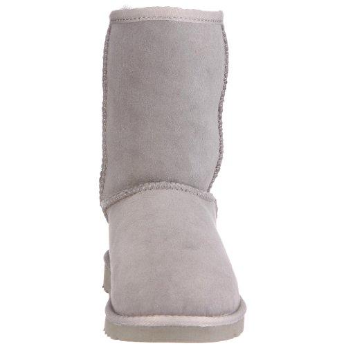 UGG Classic Short 5251 Unisex-Kinder Schlupfstiefel Grau (Grey)