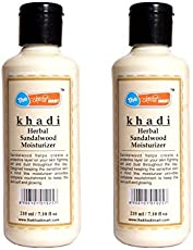 Khadi Mart Sandalwood Moisturizer - Pack of 2
