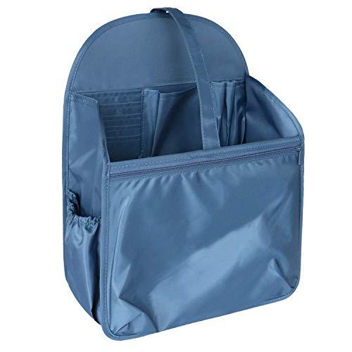 Longchamp Nylon Tote (HyFanStr Nylon Rucksack Organizer für Fjallraven, Bag in Bag Handtaschen Organizer für A4-Papier(Navy Blau,L))