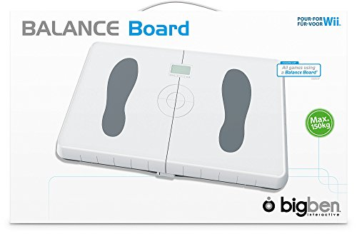 Wii Balance Board (Weiß) + Wii Fit (Bundle Board Wii Fit Balance)