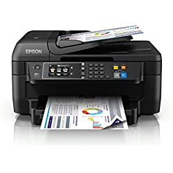 Epson WF-2760 DWF Stampante Multifunzione a Getto d`Inchiostro (Stampante, Scanner, Fotocopiatrice, Fax)