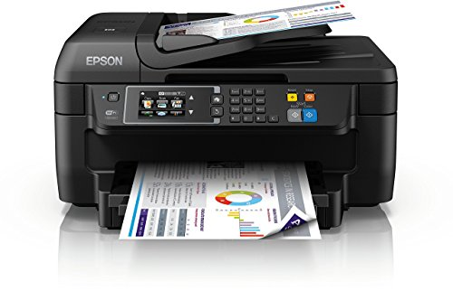 Epson Workforce WF-2760DWF Imprimante Multifonction Jet d'Encre 4-en-1 Wifi Direct R/V Automatique...