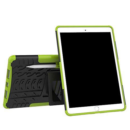 KISCO für Apple iPad Pro 11 Hülle,Stoßfest Hybrid PC und TPU Cover mit Kickstand Tablet Cover Schutzhülle für Apple iPad Pro 11-Grün