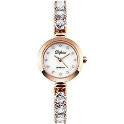 fashion ladies Bracelet Watch/Casual business watch/Waterproof quartz diamond watch-B