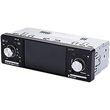"""Sedeta Reproductor de audio estéreo con reproductor de DVD digital 4.1"""" 1DIN Car In-Dash Cámara de visión trasera con radio FM"""