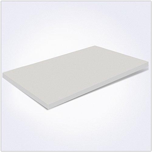 Miasuite - Topper Memory Foam per materasso Piazza e mezzo 120x190x3 ...