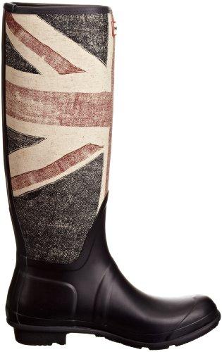 Hunter Original Brit, Damen Stiefel Blau (Dark Navy)