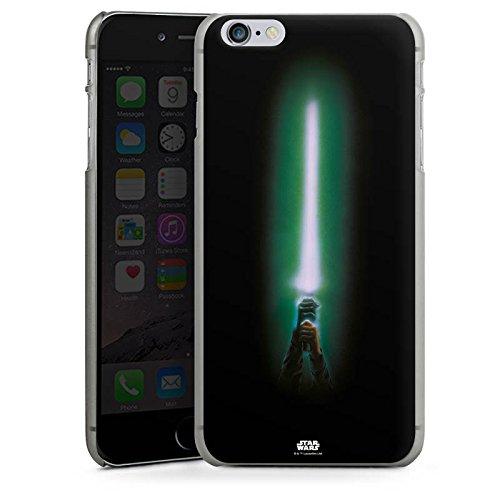 Apple iPhone X Silikon Hülle Case Schutzhülle Star Wars Merchandise Fanartikel Lichtschwert Hard Case anthrazit-klar
