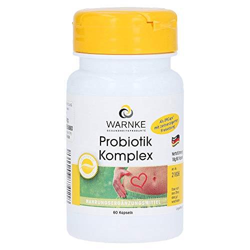 Warnke Gesundheitsprodukte Probiotik Komplex, zeitverzögert in DRCaps® - 60 Kapseln
