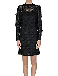 72bad96088 Michael Kors Michael Women's MCGLVS004189I Black Polyester Dress