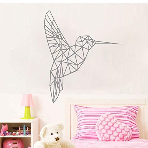 9680 Serie (KDGJG Geometrische Vinyl Vogel Wandaufkleber Wohnzimmer Hintergrund Geometrie Serie Aufkleber Wandkunst Für Wohnkultur Aufkleber Poster)