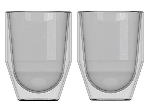 La Cafetiere Healthy Living Fika Tasses, Isolation Thermique en Verre, 7.5 x 7.5 x 11 cm