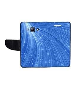 KolorEdge Printed Flip Cover For Samsung Galaxy J1 Multicolor - (1476-45KeMLogo09642SamJ1)