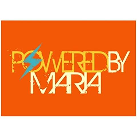 Teeburon Powered by Maria Pack de 4 Pegatinas