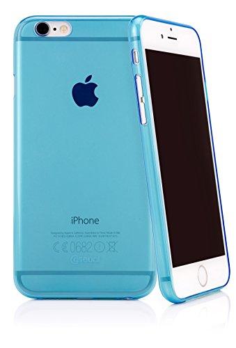 CASEual TPU-CASE-IP7-CL Flexo Slim Schutzhülle für Apple iPhone 7 klar Blau