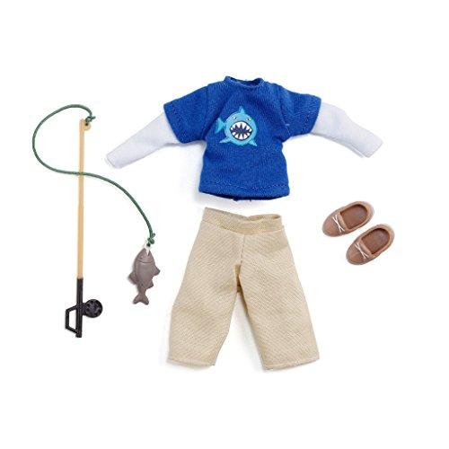 Lottie Zubehör für Puppe LT062 Gone Fishing Outfit Set für Finn Jungen Puppe Puppen Zubehör Kleidung Puppenhaus Spieleset - Zubehör Kleidung Puppenhaus Spieleset - ab 3 Jahren