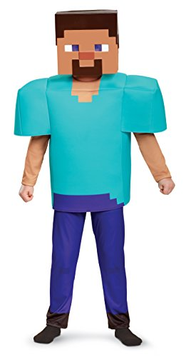 Der Creeper Kostüm - Minecraft DISK65651K Kostüm, Jungen, Steve,