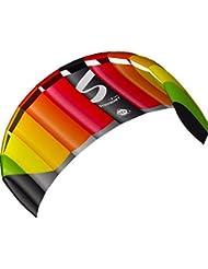 Invento 11769650 - Symphony Pro 1.8 Rainbow Zweileiner Lenkmatten, Ab 12 Jahren, 60 x 180 cm Ripstop-Nylon 2-6 Beaufort