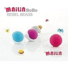 MAILIN 4 Boules de Geisha Detachables Femme Rééducation Kegel Balls Boule de Massage Silicone Exercice de Kegel pour Formation des Muscles du Plancher