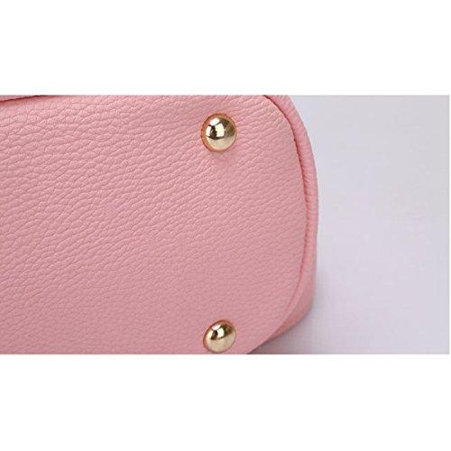 Frauen Reisetasche Art Und Weise Schulterbeutel Einfach Pink
