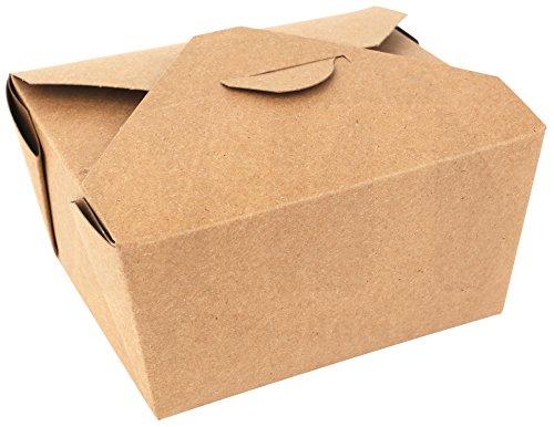 /5,1cm X 21/5,1cm Mikrowelle Papier carryout/Takeout Food Box Container von MT Produkte-(15Stück) ()