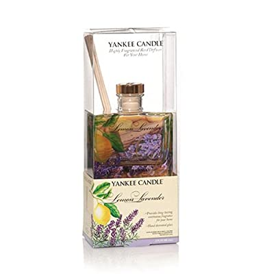 Yankee Candle - Lemon Lavender - Reed Diffuser by yankee candle/Bubblelush Divine Gifts