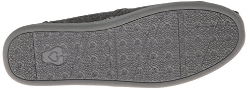 Bobs Da Skechers Bliss lana cotta Slip-on Loafer Charcoal