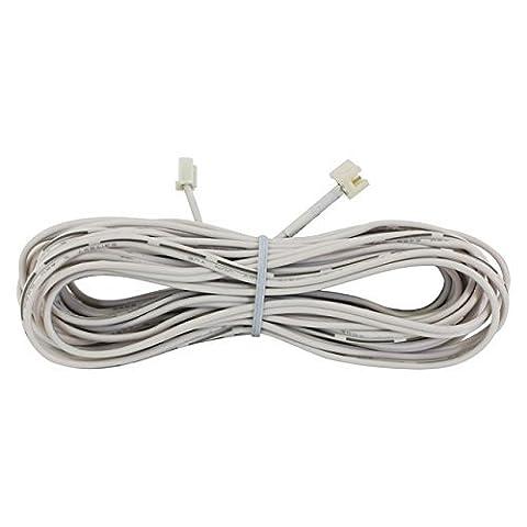 Liteline Corporation Led-El16-Wh 16.5' White Extended Lead by Liteline Corporation