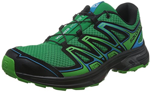 Salomon Wings Flyte 2 Chaussure Course Trial - AW16 athletic green x/black/scuba blue