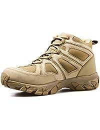 Scarpe da trekking tattiche estive e autunnali scarpe da trekking militari  traspiranti e impermeabili resistenti e a275cb96574