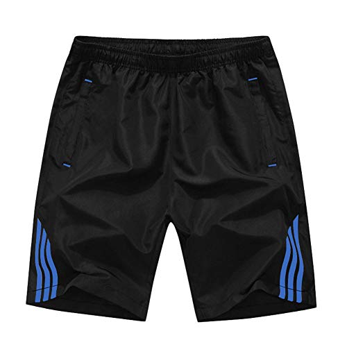 Nuevos cinco pantalones 1-2018 nuevos cinco pantalones cortos para hombres verano para hombres pantalones para hombres pantalones deportivos de gran tamaño pantalones medios para hombres@Azul_6XL