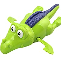 YSoutstripdu Kids toddlers Clockwork Dabbling animals Hippo Crocodile Kissingfish Floating Water Shower Toys - Crocodile/Hippo/Kissingfish/Seahorse/Shark