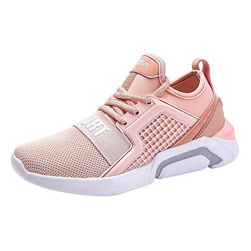 Zapatos de Viaje para Mujer,BBestseller Calzado Deportivas de Mujer Sneakers Cuña Botines Casual Plataforma de Malla Zapatos