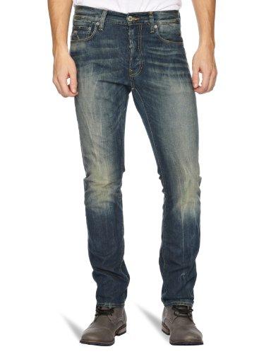 G-STAR Herren Jeans 3301 Slim, Black (Rugby Wash 3700), 31W / 34L