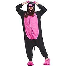 YUWELL Unisex Kigurumi Pijamas Adultos Cosplay Animales Vestuario Halloween Navidad