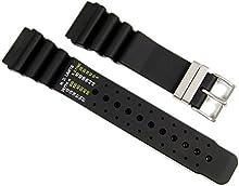 Original Citizen Correa de Reloj caucho 24mm para Promaster Diver Aqualand JP2000-08E