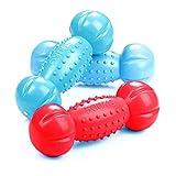 Pet Toys - Big Dog Toy Wasser Schwimmende Sound Hantel Golden Retriever Husky Big Dog Spielzeug 3er...
