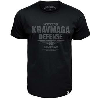 Krav Maga Defense T-shirt Thumbsdown Proud & Glory Athletic Dept. (size Small)
