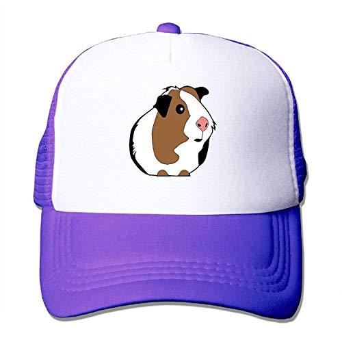(Love Guinea Pig Mesh Trucker Caps/Hats Adjustable for Unisex Black)