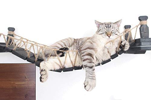 CatastrophiCreations Die Katze Mod–Wandmontage Katze aus Holz Brücke für die Katzen zu...