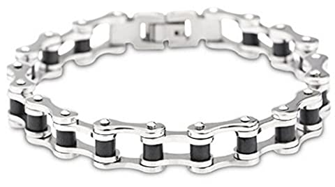 SaySure- Jewelry Stainless Steel Men's Bracelets Bicycle Chain