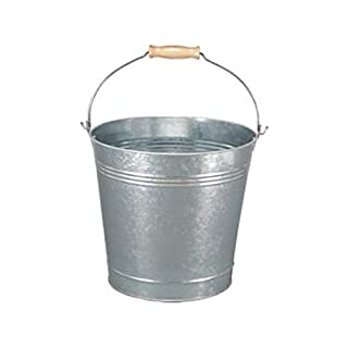 9L Galvanised Bucket With Handle