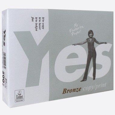 Preisvergleich Produktbild Kopierpapier A3 80g YES Bronze 500 Blatt