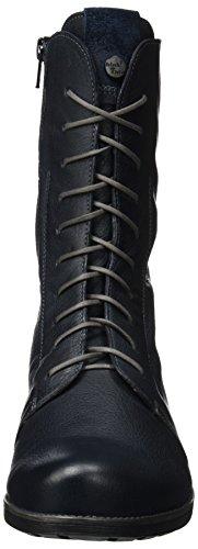 Think! Denk, Desert Boots Femme Bleu (Water/kombi 86)
