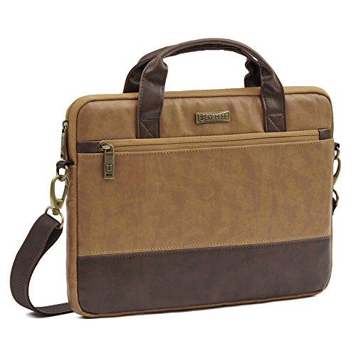 evecase-133-inch-laptop-shoulder-bag-business-briefcase-messenger-bag-carrying-case-for-apple-macboo