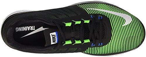 Nike Zoom Speed Tr3, Scarpe Stringate Basse Brogue Uomo Negro / Blanco / Verde (Black / Sprng Leaf-Crg Khk-White)