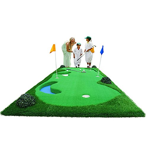 X-L-H Golf Putt Praxis Matte Praxis Decke Indoor Und Outdoor Schaukel Praxis Matte Simulation Sandkasten 150 * 375 cm