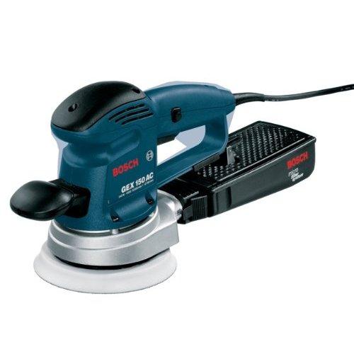 Bosch GEX 150AC Random Orbitalschleifer 340 Watt 240 Volt, 1 Stück, GEX150AC/2
